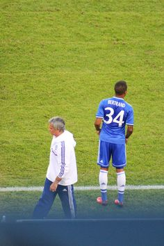 Ryan Bertrand and The Special One at the Guinness Cup in NY Aug 4th, 2013