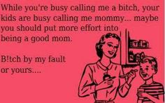 I don't agree with this at all. THIS IS THE WORST ATTITUDE POSSIBLE! Mommy vs step mom