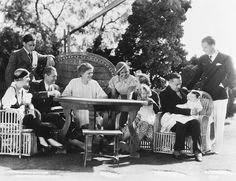 The Barrymore family at a reunion at John Barrymore's home. The get-together was made possible by John, Lionel, and Ethel starring together in the film Rasputin. From left to right: Mrs. Get premium, high resolution news photos at Getty Images Hollywood Icons, Vintage Hollywood, Hollywood Stars, Classic Hollywood, Barrymore Family, John Barrymore, Dolores Costello, Janet Gaynor, Mary Astor