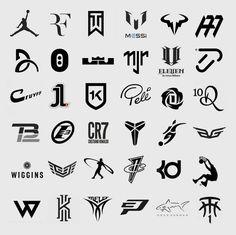 42 logotipos de grandes deportistas