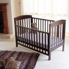 The Babyhood Classic Curve Cot 4 in 1 is a convertible Curve cot that is incredible value for money, yet boasts high end features and quality with a matching change table for the nursery 4 In 1, Baby Furniture, Cribs, Mattress, Nursery, The Incredibles, Classic, Baby Cots, Kids Sofa