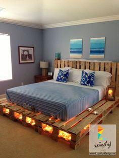 غرف نوم مودرن بصناعة يدوية 2015