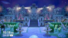 Animal Crossing Wild World, Animal Crossing Guide, Animal Crossing Villagers, Fantasy Castle, Fairytale Castle, Disney Island, Royal Theme, Pix Art, Motifs Animal