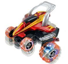 Flashing Street Shark Car Radio Control RC Remote Kids Toy Children Light Racer