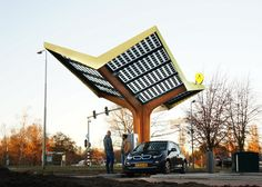 Europe's 1st Urban Fast Charging Station — In The Hague, Holland