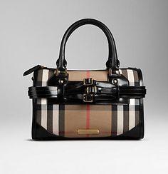 LOVE! House check Burberry bag.