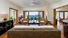 Nonsuch Bay Resort: Two-Bedroom Apartments are an enormous 1,400 square feet, with a full kitchen and living room.