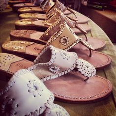 One can never have enough Jack Rogers.