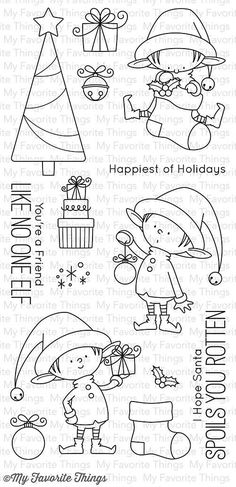 MFT STAMPS: Santa's Elves