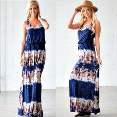 Tie and Seek Maxi Dress
