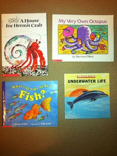 Lots of Book Recommendations on Ocean theme