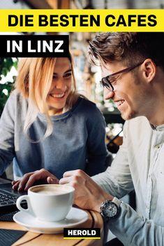 Wo gibt es in Linz richtig guten Kaffee? Und welche Kaffeehäuser in Linz sind besonders gemütlich? Hier unsere Top 12! Austria, Linz, Vegetarian Restaurants, Coffeehouse, Amazing Places To Visit, Travel Inspiration, Travel Advice