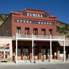 Eureka Opera House in Eureka, Nevada