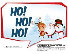 Plaquinhas de Natal - Grátis e Pronta para Imprimir | Natal ...