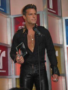 The Puerto Rican papi, Ricky Martin