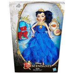 "Disney Descendants Auradon Kids - Evie Doll in Coronation Outfit - Hasbro - Toys ""R"" Us"