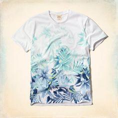Hollywood Beach T-Shirt . Hollister . Spring 2015