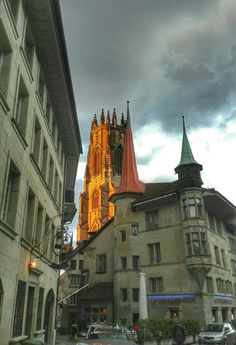 Fribourg Svizzera Kirchen, Aldo, Switzerland, Saints