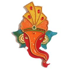 Red Large Dulha Ganesha