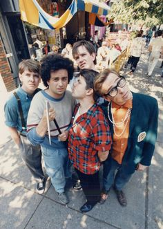 Kids in the Hall - Canadian sketch comedy group with an 80's-90's television series of the same name. Kids member Bruce McCulloch has guested on Gilmore Girls.