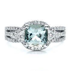 Aquamarine Ring | Joseph Jewelry Seattle Bellevue