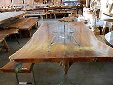 Tar Teak Acrylic Steel Furniture My Style Pinterest Steel - Indonesian teak dining table