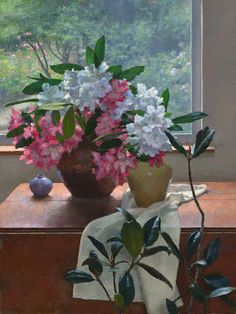 Jim McVicker Paintings: Portraits, Still-life, Landscapes   2012