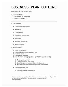 Business Plan Sample Pdf, One Page Business Plan, Startup Business Plan Template, Business Plan Outline, Marketing Plan Template, Simple Business Plan, Business Proposal Template, Proposal Templates, Start Up Business