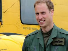 Prince William - Prince William Flies a Helicopter