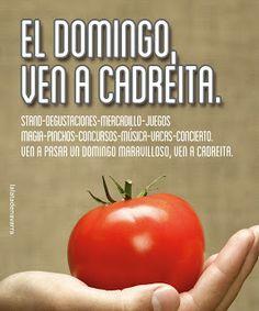 """La Lata de Navarra #Campaña """"El domingo ven a Cadreita"""" Vegetables, Food, Domingo, Tin Cans, Creativity, Essen, Vegetable Recipes, Meals, Yemek"""