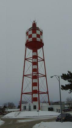 Water tower at CFB Trenton Water Tower, Golden Gate Bridge, Good Times, Travel, Viajes, Destinations, Traveling, Trips