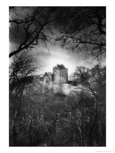 Castle Campbell, Stirlingshire, Scotland by Simon Marsden
