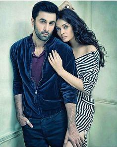 Aishwarya Rai Bachchan and Ranbir Kapoor in a sizzling photoshoot for Filmfare. #Bollywood #Fashion #Style #Beauty #Hot #Sexy