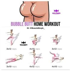 Bubble Butt home workout. At home Exercises for Butt. Experience the World's Largest Library of Audiobooks. Get Free Access to Exclusive Fitness & Weight loss programs and more! Listen in the Audible app. Fitness Workouts, Workout Cardio, Bubble Butt Workout, Leg Workout At Home, Gym Workout Videos, Workout Routines For Beginners, Fitness Workout For Women, Workout Plans, Killer Workouts