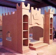 bed castle plans