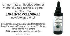 Argento Colloidale: il più potente Antibiotico Naturale. Proprietà, usi e controindicazioni. - http://frasideilibri.com/potente-antibiotico-naturale-argento-colloidale-proprieta-usi-controindicazioni-salute/