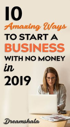 Starting a business tips - 10 Amazing ways to start a business with no money in Own Business Ideas, Starting Your Own Business, Home Based Business, Business Opportunities, Online Business, Craft Business, Web Business, Business Money, Business Products