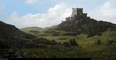 The Fortress by Andreas Rocha | 2D | CGSociety