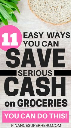 Tired of wasting your hard-earned money on food? These 11 tips helped us save money on groceries and cut our food budget drastically! Applying even one or two will help you save some serious cash TODAY.