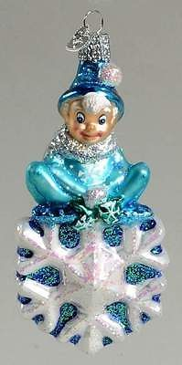 Merck Family's OLD WORLD CHRISTMAS ORNAMENT Jack Frost 10279931
