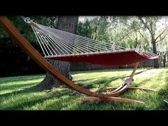WWII US Navy Hammock Clew Tutorial - YouTube