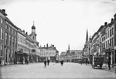 Breda De Grote Markt omstreeks 1936