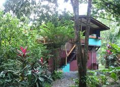 Puerto Viejo Vacation Rental - 3 BR Limon House in Costa Rica, Custom Built, Finely Crafted Bird House in Jungle Near Beach an...