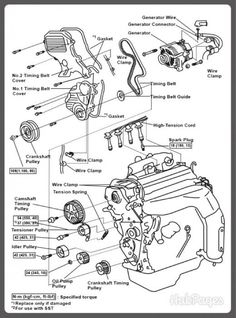 Honda Pilot Headlight Replacement as well 2003 Highlander Timing Belt Or Chain together with 1991 Dodge Dynasty Engine Belt Diagram likewise 2000 Audi A6 Parts Description likewise 2005 Ta a Timing Chain Replacement. on toyota 1mzfe timing belt replacement camry avalon es300