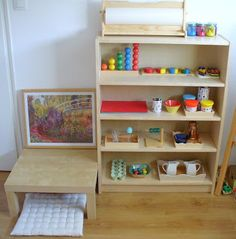 Montessori Toddler Workspace