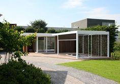 Camargue terrace cover - Poolhouse application - www.renson-outdoor.com