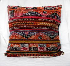 Kilim rug Rustic Antique Romanian Hand Woven by folklorelove, $89.00