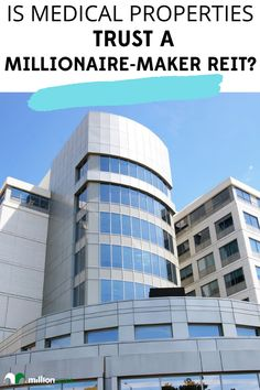 Real estate has been an excellent way for investors to build wealth over the years. It has turned many into multimillionaires and even churned out a few billionaires. However, it doesn't do that overnight as most big gains from real estate come from long-term compounding. #realestate #medical #properties #trust #millionaire #REIT #financial #investing Real Estate Investor, Real Estate Marketing, Investment Property, Rental Property, Commercial Real Estate Investing, Investment Portfolio, Residential Real Estate, Investors, Trust