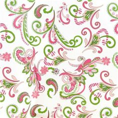 """Have the perfect supplies on hand for gift giving of any occasion with Floral & Swirl Gift Wrap. This heavy-duty paper features a printed grid on the inside for easy and accurate cutting and a printed pink and green swirled floral design on the outside. Add curling ribbon and bows (sold separately) for a finished look.        Dimensions:      Length: 240""""    Width: 30""""          Each roll includes 50 square feet of 100gsm paper."""