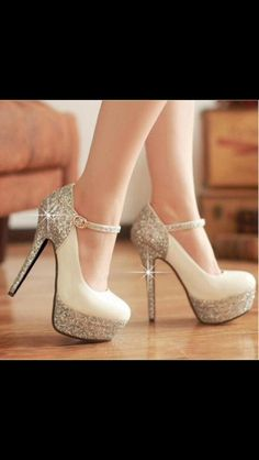 Totally wedding shoes!
